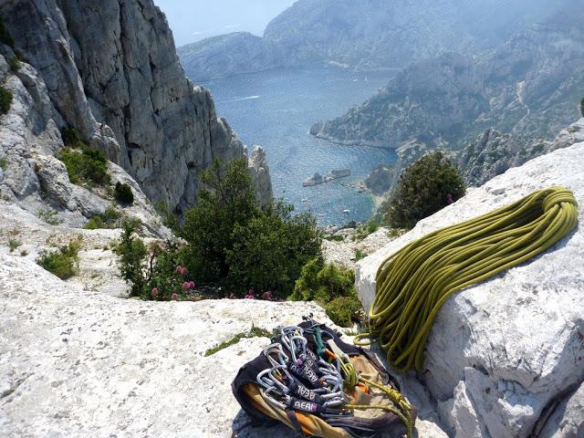 moniteurs d'escalade dans les massifs de provence