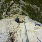 moniteur escalade calanques