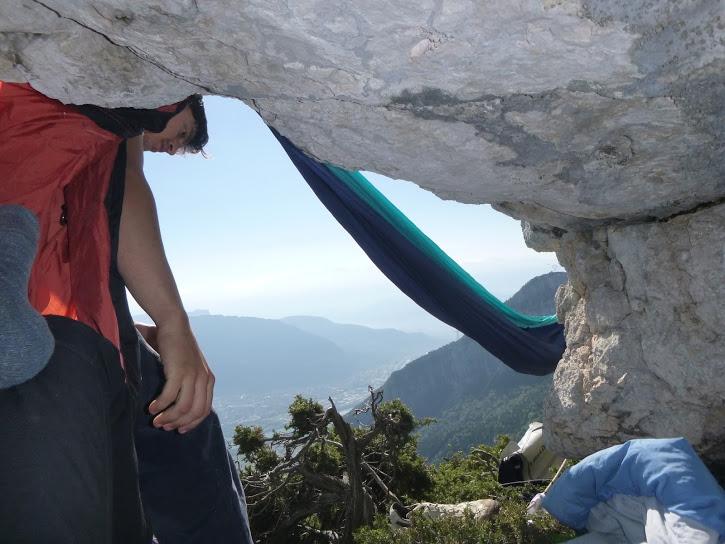 La face nord du Pic Grillon