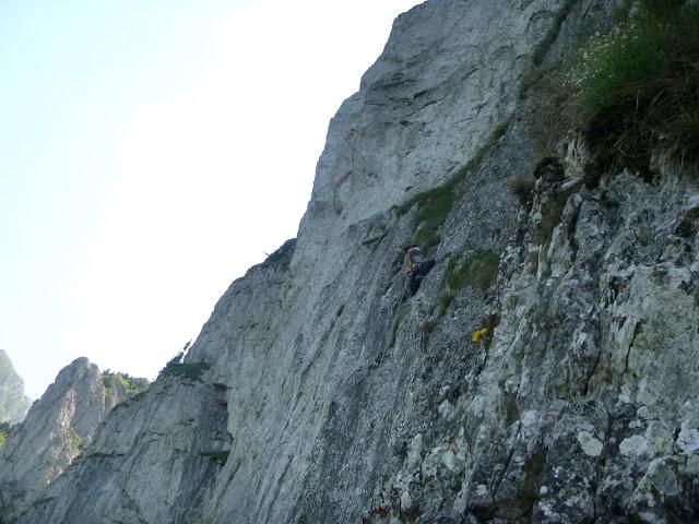 grande voie escalade pic grillon