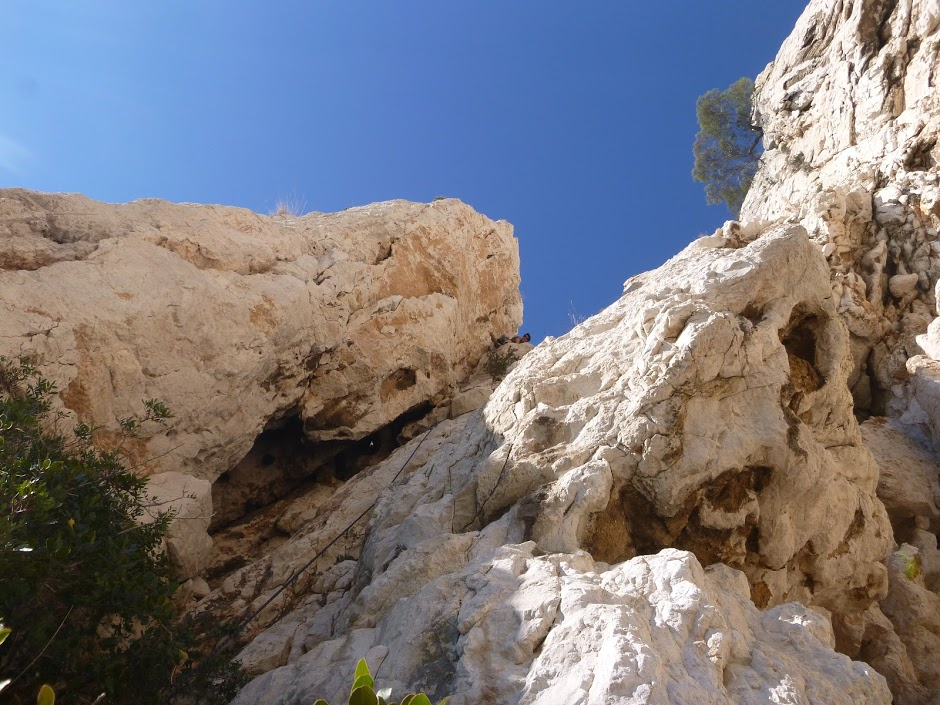 Escalade et terrain d'aventure à l'eissadon