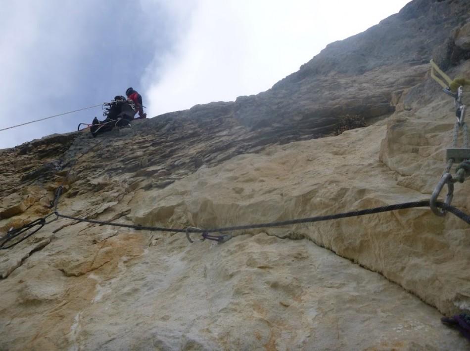 moniteur escalade grande voie vercors