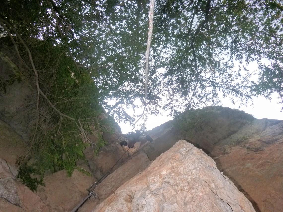 grande voie en rive gauche du verdon