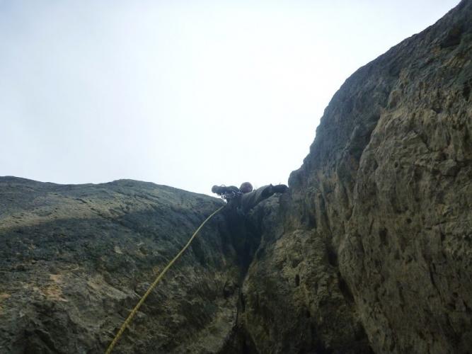 sortie escalade sur le massif de la sainte victoire