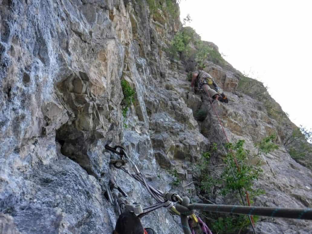 guide escalade gillardes Dévoluy