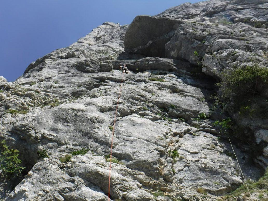 topo guide escalade dans le vercors