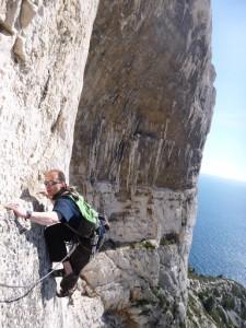 Des guides pour découvrir l'escalade dans les Calanques, nouvelle version, nouvelle vision!