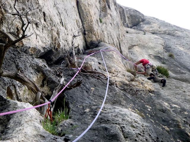 guide d'escalade à la Sainte Victoire