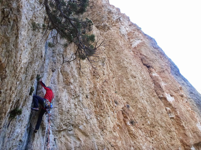 stage initiation escalade dans le verdon