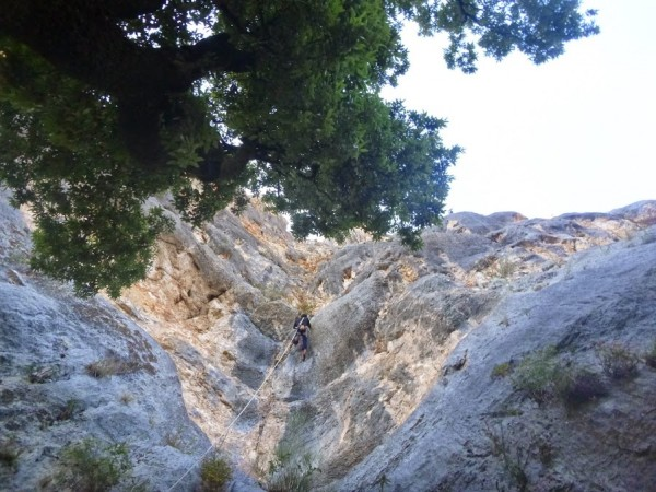 fissure d'escalade du verdon