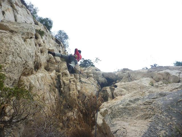 escalade terrain d'aventure calanques