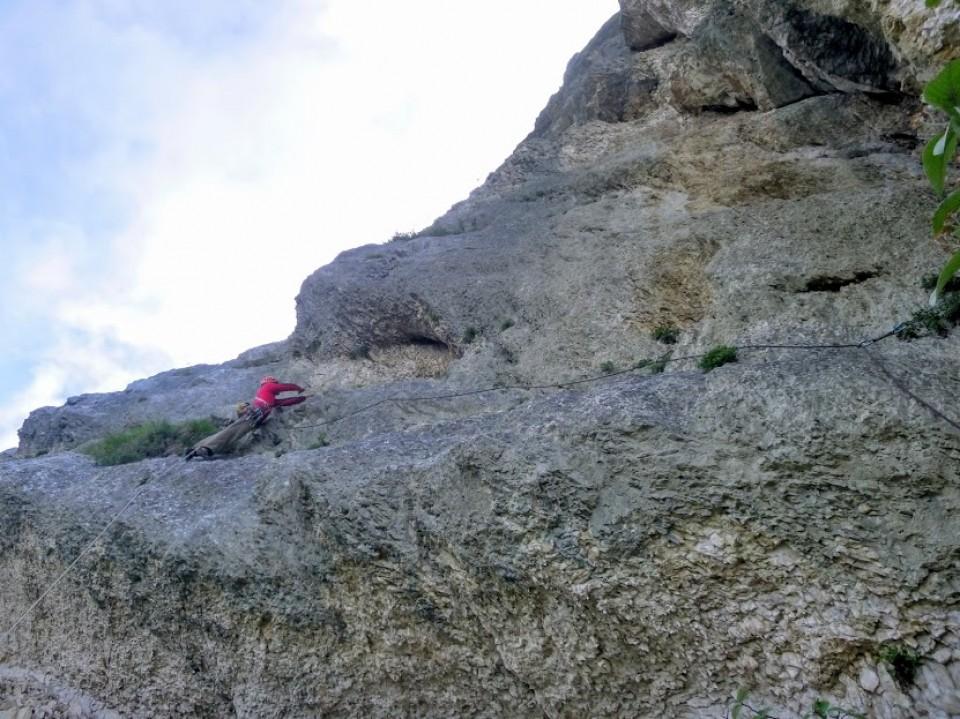 grande voie escalade terrain d'aventure chartreuse
