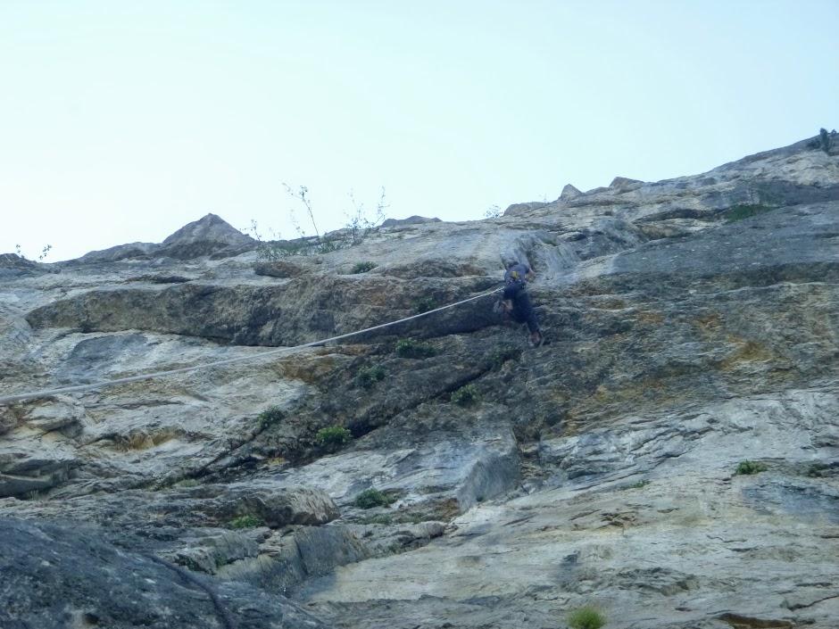 topo grande voie escalade la sure vercors