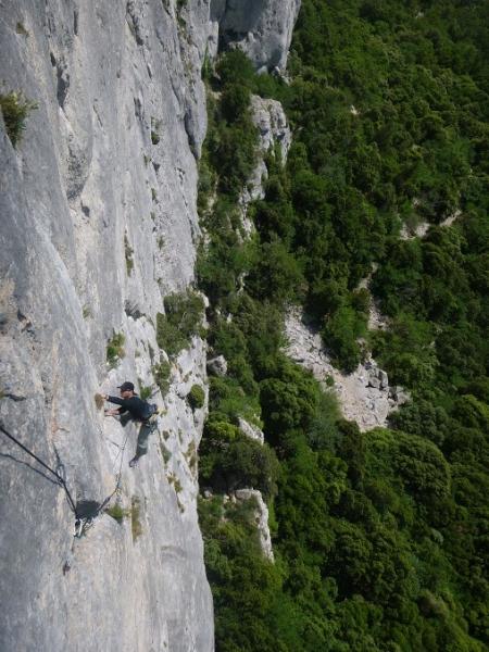 topo d'escalade à bartagne