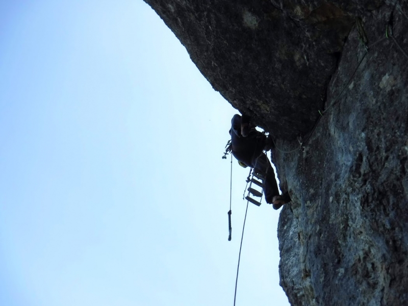 escalade voie Caroline la Sûre-topo guide escalade vercors