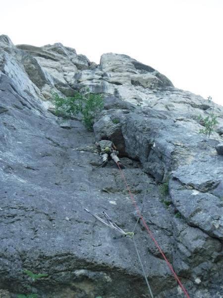 escalade voie Caroline la Sûre- topo guide escalade vercors