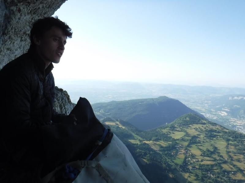 escalade voie Caroline la Sûre- topo guuide escalade vercors