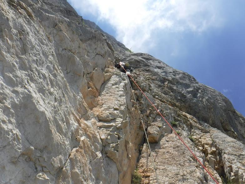 La Directissime au Mont Aiguille