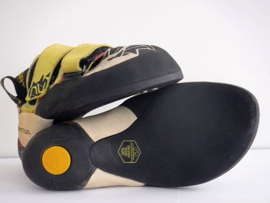 """ressemelage des chaussons d'escalade à Marseille, l'atelier possède le label de """"ressemeleur officiel La Sportiva"""""""
